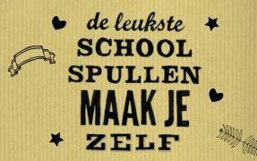 Volgens de #Hema maak je de leukste schoolspullen zelf! Heb jij het DIY-folder van  Hema al bekeken? Bekijk alle schoolspullen op Reclamefolder.nl of download onze app.