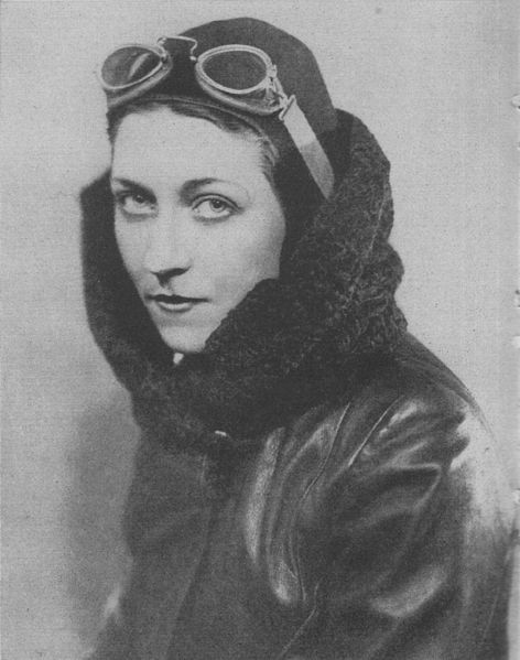 Amy Johnson (1 July 1903 – 5 January 1941)  was the first female pilot to fly alone from Britain to Australia and set numerous long-distance records during the 1930s. She flew in World War II as part of the Air Transport Auxiliary.