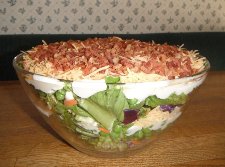 Garden Fresh Layer Salad