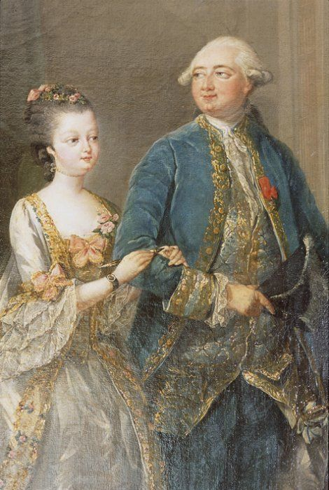The fifteen year old Marie-Adélaïde was married to the Duc de Chartres on the 5th April 1769 at Versailles.The wedding was expensive and lavish with vast amounts of titled guests and a wedding banquet hosted by Louis XV himself.The couple went on to have six children, of whom four survived into adulthood: Louis-Philippe (who would become King Louis-Philippe of the French), Louis-Antoine duc de Montpensier, Louise-Adélaïde and Louis-Charles comte de Beaujolais.