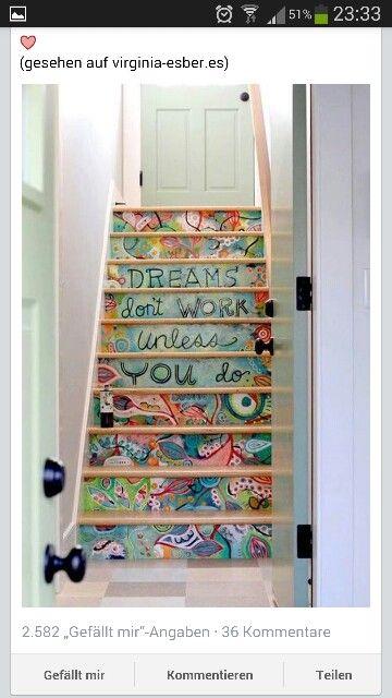 1000 images about treppen deko on pinterest to be deko. Black Bedroom Furniture Sets. Home Design Ideas