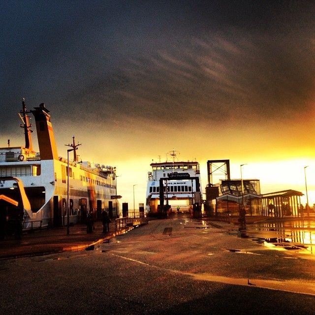 Wyk auf Föhr Fährhafen