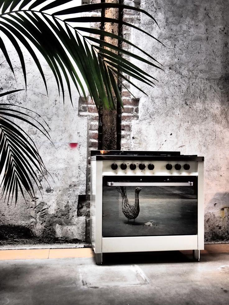 urban living e #cucina #Class #avorio #Bompani #architettura #design #arredamento #MadeInItaly #owen #forno #pianocottura #ItalianCulture #ItalianCuisine #ivory