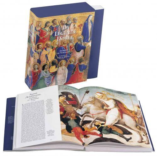 Livre d'art La Légende dorée de Voragine illustrée par les peintres de la Renaissance italienne - Diane de Selliers, éditeur de livres d'art, achat en ligne