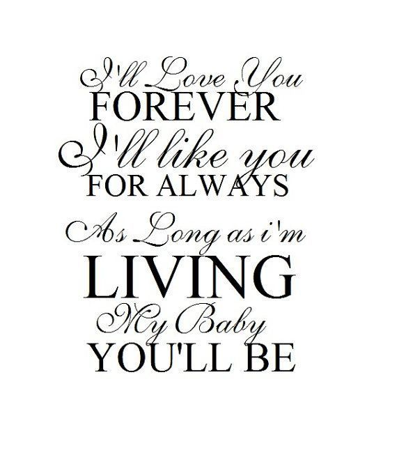 I Ll Love You Forever Book Quotes Cool 285 Best Fathers Day Quotes Daddy  Gifts Images