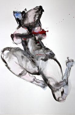 "Saatchi Art Artist Dong Li-Blackwell; Painting, ""Lady X No.81"" #art"