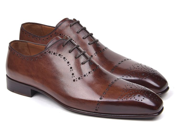 Mens Oxford Shoes Brown Brogues PRO Quality