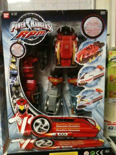 Amazon.com: Power Rangers RPM Deluxe Paleomax Megazord Zord MISB MIB NEW: Toys & Games