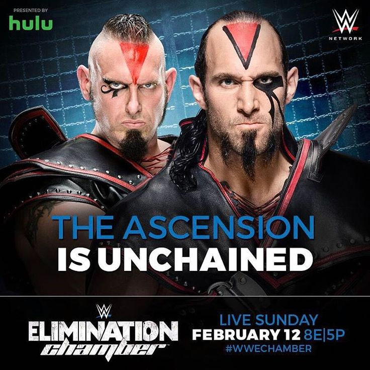 WWE Elimination Chamber 2017: The Ascension is unchained.