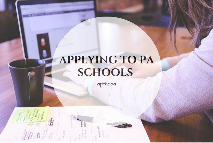 Applying To PA Schools - CASPA | AP the PA