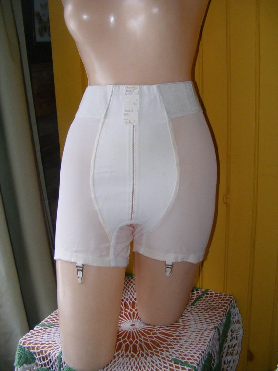 Vintage 1960s Girdle Panties Brief Formfit By
