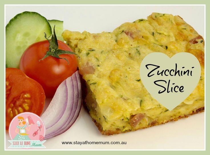 Zucchini Slice | Stay at Home Mum