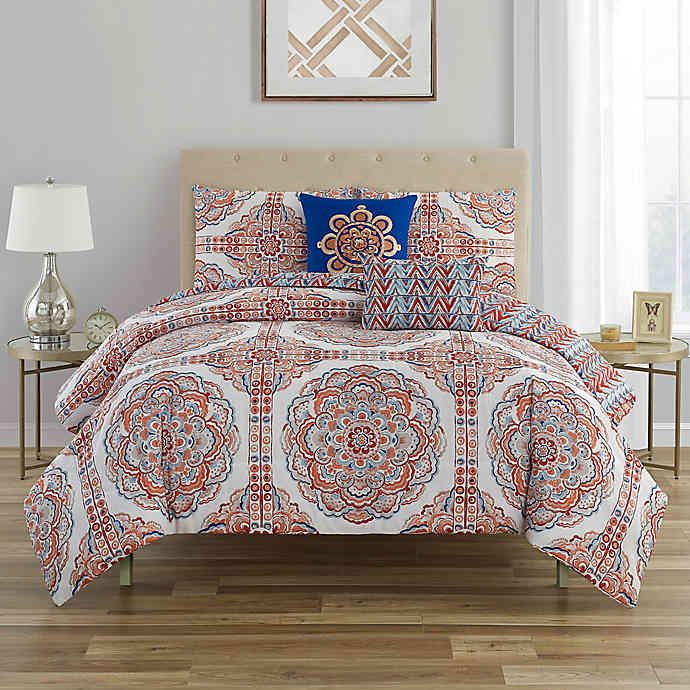 C Wonder Mariola 5 Piece Reversible Comforter Set In 2020