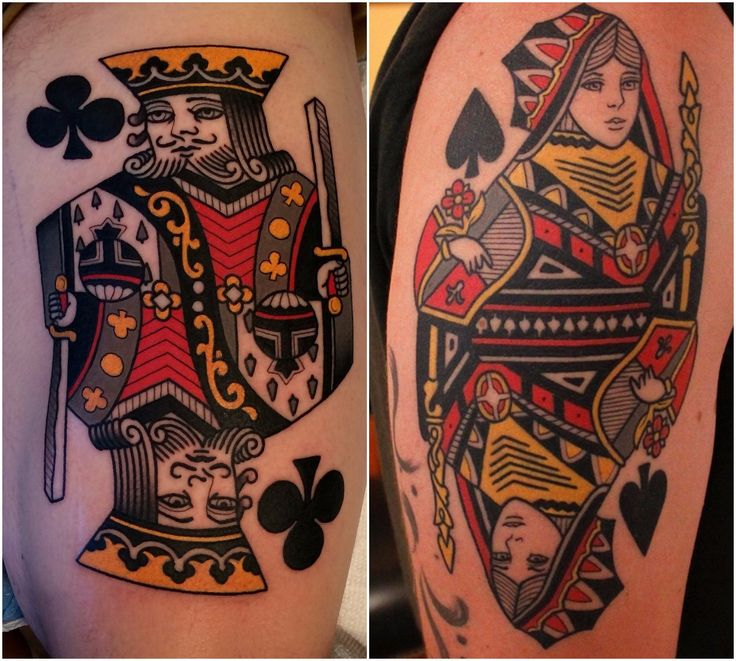 best 25 queen of spades tattoo ideas on pinterest tatouage roi reine king queen tattoo and. Black Bedroom Furniture Sets. Home Design Ideas
