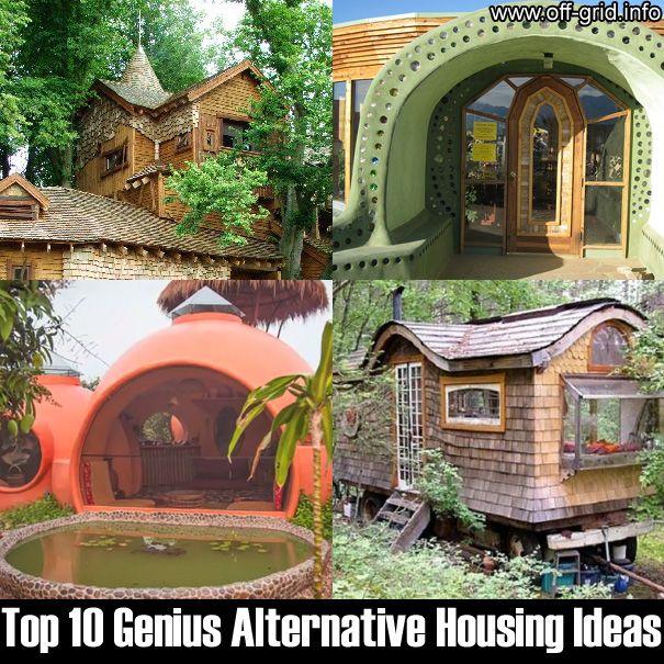 2471 best survival images on pinterest emergency for Alternative housing