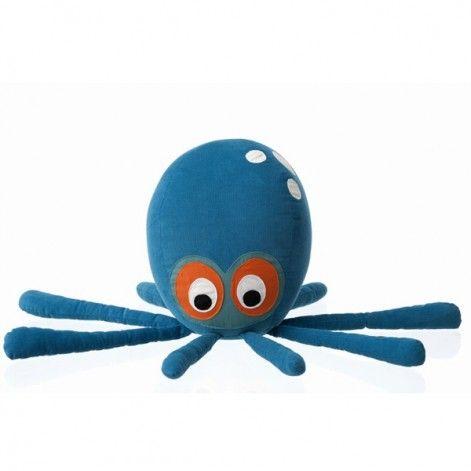 Octopus kussen en knuffel - Ferm Living. Bij Flinders vind je prachtige Design Meubels, Moderne Verlichting en de leukste Woonaccessoires.