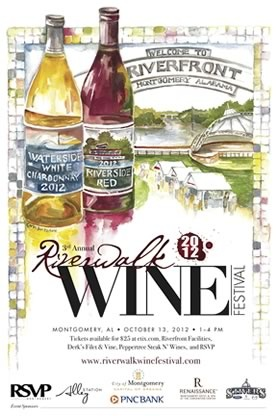 River Walk Wine festival - Montgomery Alabama