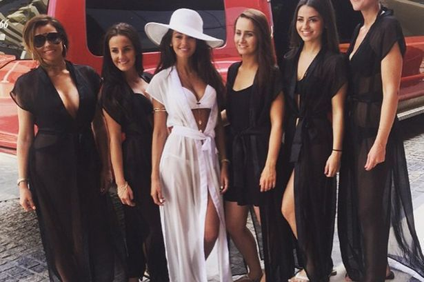 Celebrity hen and stag do's - Michelle Keegan | CHWV