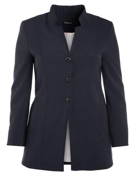 Elegante karakter onthult deze lange blazer in stretch kwaliteit gehandhaafd. De heilzame stijl stretching met langsnaden benadrukt de verticale lijne... Bekijk op http://www.grotematenwebshop.nl/product/moderne-lange-blazer/