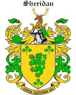 8 best sheridan coat of arms images on pinterest crests coat of the sheridan family page altavistaventures Gallery