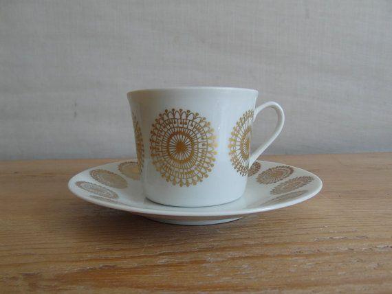 Porsgrund Norway  demi tasse / coffee cup & by littledanishmood, kr180.00