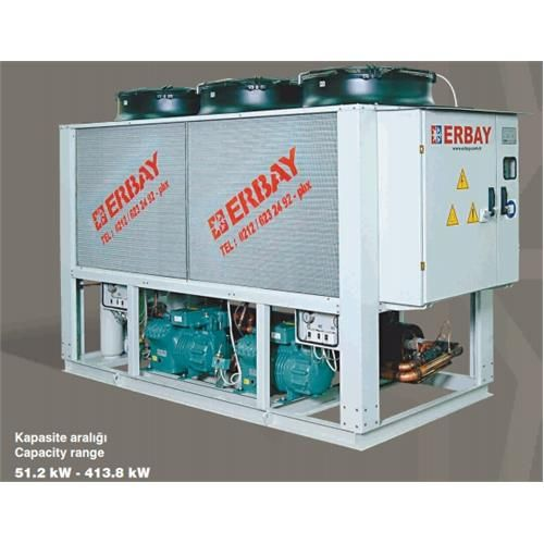 Reciprocating Compressors - Air Cooled Water Chillers