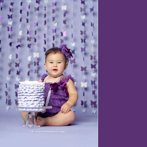 Adorable  smash cake photos | #BabyCenterBlog