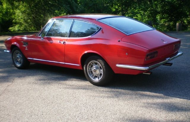1967 Fiat Dino Coupe For Sale Rear