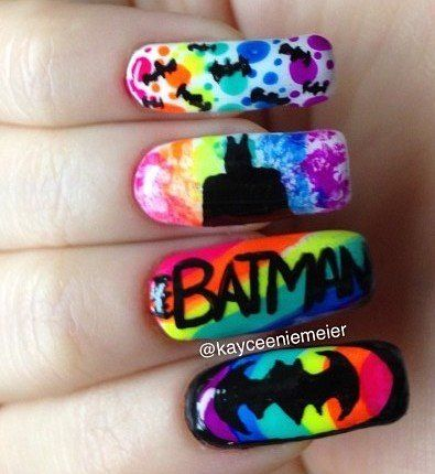 Batman Nails...just wouldn't want them that long