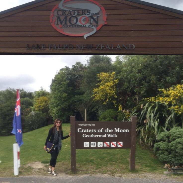 Craters of the Moon, Taupo, New Zealand
