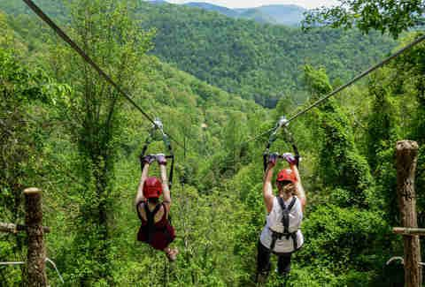 Most Amazing Adventures off the Blue Ridge Parkway - Thrillist