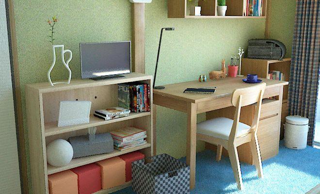 6畳和室を子供部屋として使う