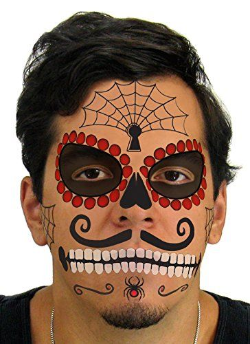 152 best amazing fake tattoos images on pinterest for Halloween makeup tattoos