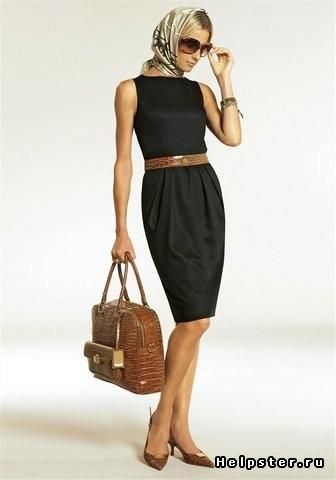 Сшить офисное платье своими руками