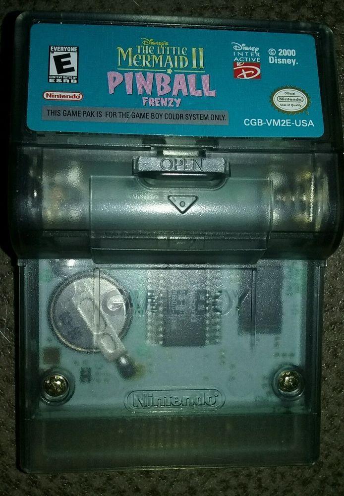 Disney's The Little Mermaid II: Pinball Frenzy (Nintendo Game Boy Color, 2000)