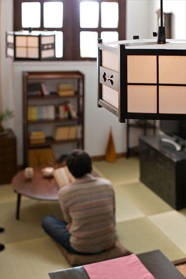 【インテリア】ちゃぶ台を使った和モダン部屋|アンティーク家具「ラフジュ工房」のブログ