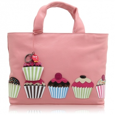 Yoshi Cup Cake Applique Handbag