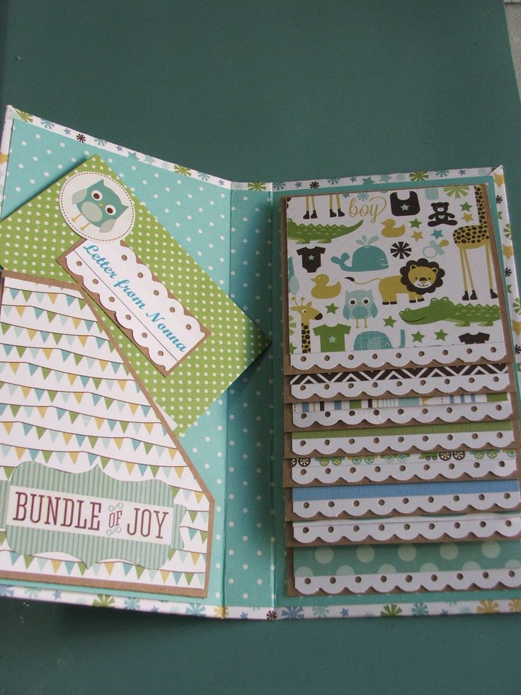 Interior of Grandma's Brag Book using Echo Parks Bundle of Joy You can see video here https://www.youtube.com/watch?v=CVacpTTDGdI