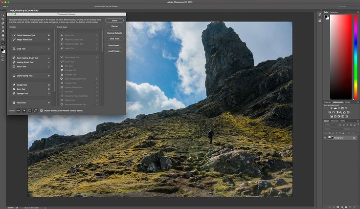 Adobe Photoshop update brings custom toolbars and artboards Before the sun sets on 2015 Adobe has another round of updates for its Creative Cloud software. The new features span a number of apps but we'll focus on Photoshop CC. To boost overall productivity and to save you time and a few headaches Adobe is giving the photo-editing software custom toolbars. This means that you'll be able to add delete and rearrange what appears in that set of tools on the left side of the interface. The new…