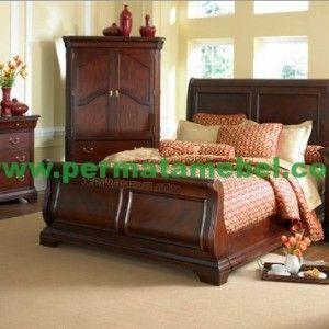 Set kamar tidur kayu jati