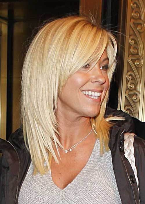 Kate Gosselin Short to Medium Length Hair