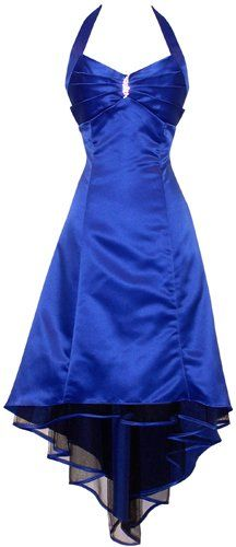 PacificPlex offer the best Satin Halter Dress Tulle Mini Train Prom Bridesmaid Holiday Formal Gown Junior Plus Size, Medium, Royal-Blue. This awesome product currently in stocks, you can get this Apparel now for only $69.99.