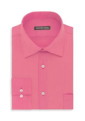 Geoffrey Beene Candy No-Iron Fitted Dress Shirt