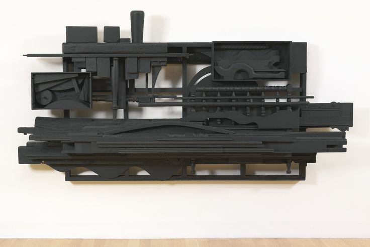 """Louise Nevelson (1899-1988) """"Mirror-Shadow I"""" c. 1985 at Sotheby's 11/14/13"""
