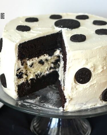 Oreo Cheesecake Cake....love it and can't wait to make it