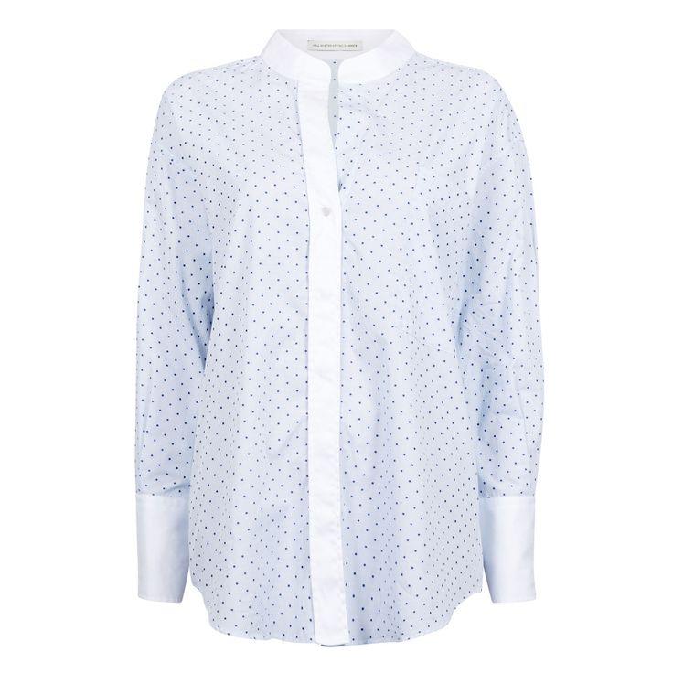 wasting dots jaquard shirt