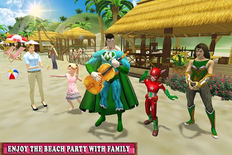 #virtual #superhero #family #holiday #camping #christmas #NewYear #trip #adventure #beach #bonfire #party #cooking #drive #dizziness #snow #tracks #android #game