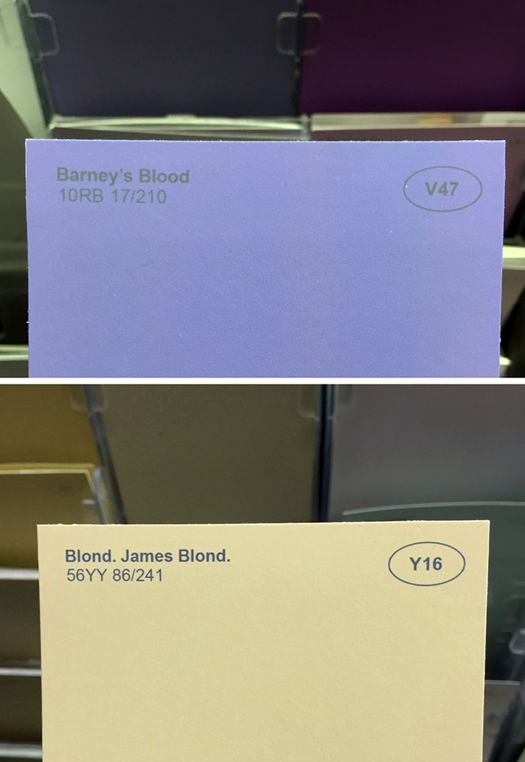 Obvious Plant Adds Clever Fake Names to Ordinary Paint Colors at a Local Store