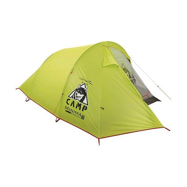 Stan Camp Minima 3 SLje veľmi ľahký dvojplášťový stan pre 3 osoby ideálny na turistiku.Stan Camp Minima 3 SLmá jeden vstup a jednu predsieň na turistické vybavenie.