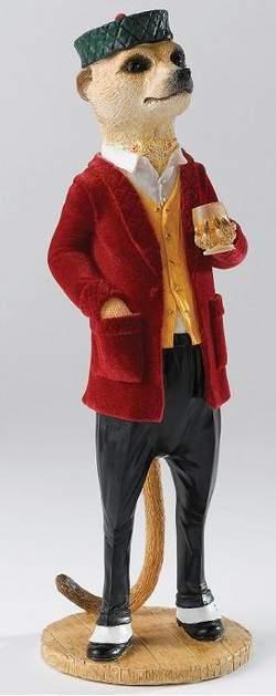 Alexei the magnificent meerkat figurine